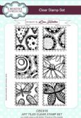Creative Expressions - Art Tiles A5 Clear Stamp Set - CEC916